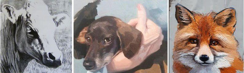 Workshop Dieren schilderen