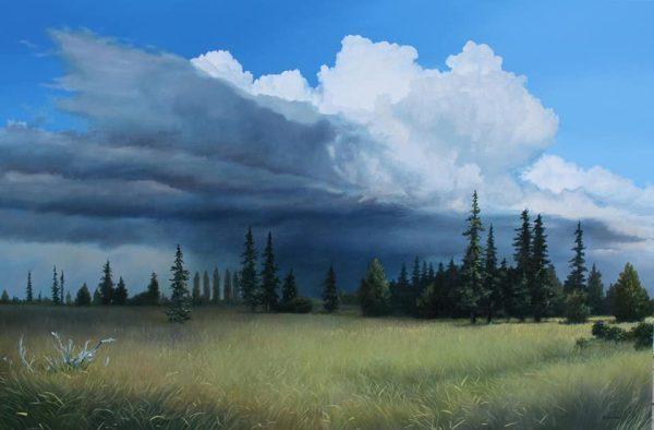 Landschappen van Andy Eccleshall (USA) te zien in Galerie Autrevue en in Tjaarda Oranjewoud