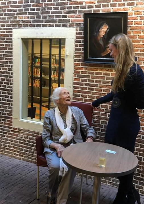 Ine de Jong-Pothast, My modern Muse, GMW in Leiden x