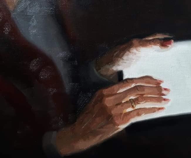 handen van my modern muse GMW