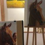 schilder je eigen onderwerp: paard