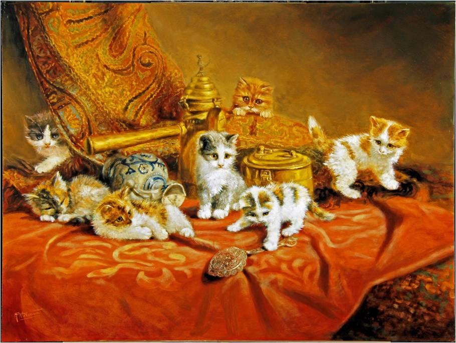 kittens nà de restauratie