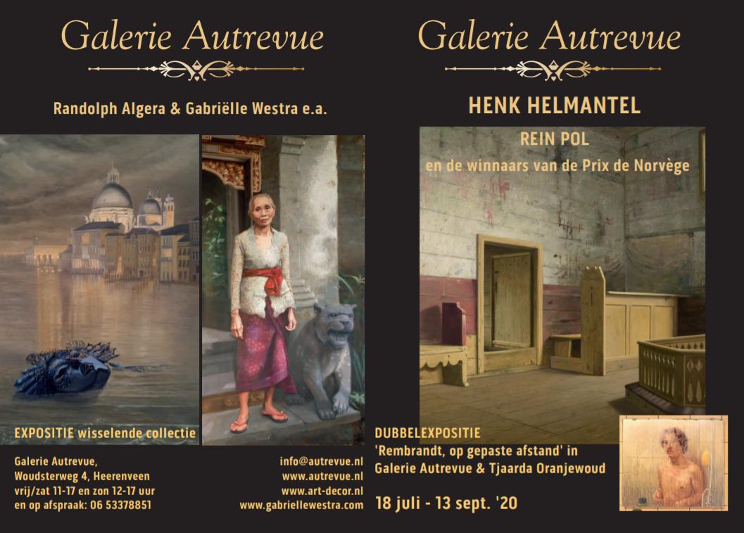 brochure van expositie