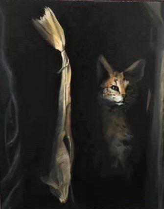 RA stokvis en civetkat voor In de voetsporen van Rembrandt Bredevoort v