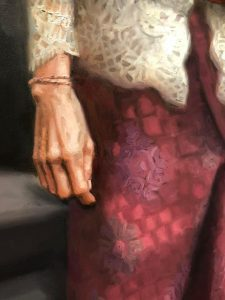 Met hart en ziel gewerkt aan de tentoonstelling, even wennen dat we geen handen meer mogen geven