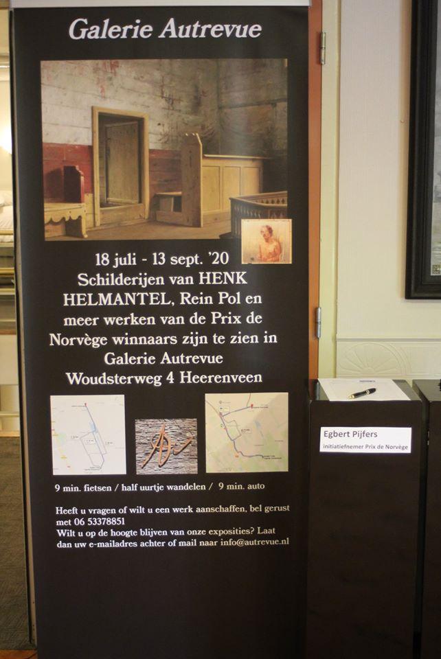 In Tjarda Oranjewoud is de tweede expositie van Galerie Autrevue.