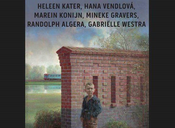 poster met informatie over de tentoonstelling van 3/10 t/m 28 nov.
