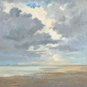 Het Wad - strand, zee en lucht