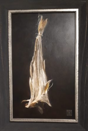 oilpainting with 3D elements by GM Westra, stockfish