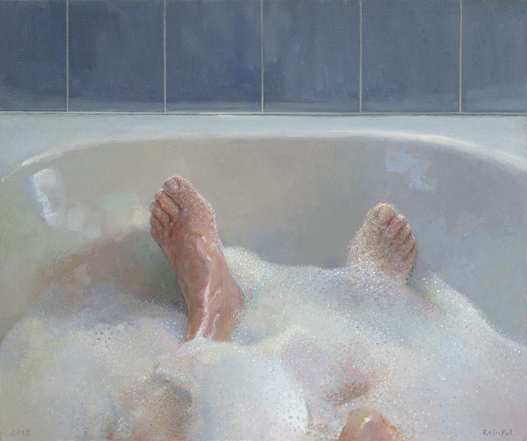 Rein Pol - voeten in het badschuim