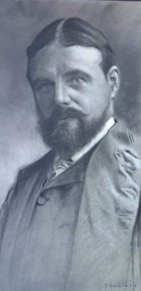Sir Alma Tadema, zwartwit