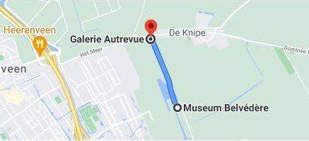 route Belvédère naar Autrevue