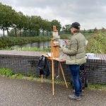 Marieke Wijffels plein air schilderen